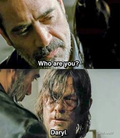 In a world full of Negans, be a Daryl.