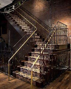 Ted Baker Feature stair by Amuneal