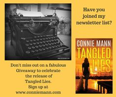 Fun giveaway coming for newsletter subscribers! www.conniemann.com