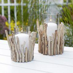 twig candleholders