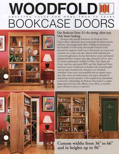 Hidden Passage Doorways > Forgotten Space Concept Doors > Woodfold Bookcase Doors>    I Love Hidden doors and spaces makes the most mundane things more fun.