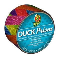 Duck Prism Crafting Tape, Rainbow