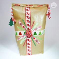 Geschenkverpackung handmade - Washi Tape Cake Pops, Washi Tape, Gift Wrapping, Handmade, Gifts, Wrapping Gifts, Projects, Crafting, Gift Wrapping Paper
