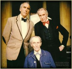 Cristopher Lee, Vincent Price and Peter Cushing