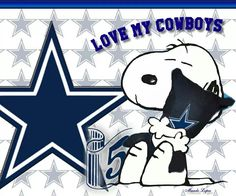 Cowboys and Snoopy! Could life get any better? Dallas Cowboys Coaches, Dallas Cowboys Quotes, Dallas Cowboys Wallpaper, Dallas Cowboys Pictures, Cowboys 4, Cowboy Images, Cowboy Pictures, Cowboy Love, Cowboy Baby