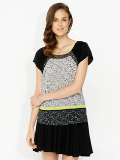 Image for Spliced Print Top from Portmans