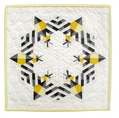 """Bzzzzzz"" by Sheri Cifaldi-Morrill of Whole Circle Studio. Photo Courtesy of Quilt Alliance"