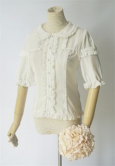 The Easter Bunny Lolita Blouse
