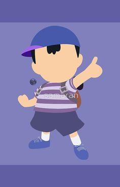 Ness (Blue) - Super Smash Bros.