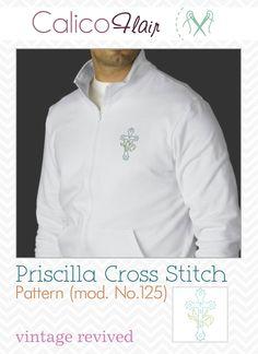 Priscilla Cross Stitch Pattern mod. No.125