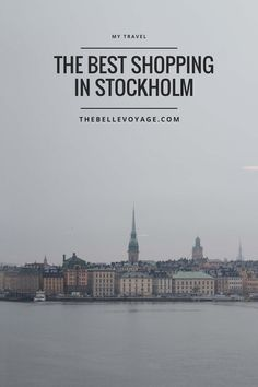 Shopping in Stockholm | The Belle Voyage | My favorite stores in Stockholm - including a map!  Plus: what I brought home with me.  What to do, itinerary, what to pack, stores, things to do, souvenir, map, where to shop