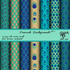full size digital scrapbook background papers