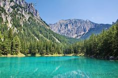 """Grüner See"" (""Green Lake"") in Tragöß, Styria, Austria"