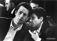 "Robert De Niro et Joe Pesci dans ""Raging Bull"" de Martin Scorsese. Martin Scorsese, Old Movies, Great Movies, Iconic Movies, Al Pacino, Movie Stars, Movie Tv, Raging Bull, Hollywood"