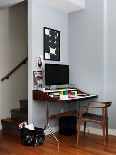 Loving this cute little workstation