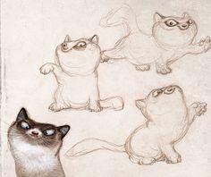 https://www.behance.net/gallery/32437267/Cat?sso_inbound=1
