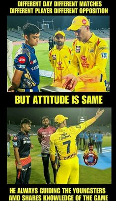 Dhoni - he is awesome yaar India Cricket Team, Cricket Sport, Cute Couple Comics, Couples Comics, Dhoni Captaincy, Dhoni Quotes, Ms Dhoni Wallpapers, Ms Dhoni Photos, Ipl Live