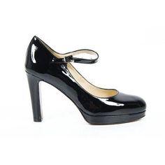 Versace 19.69 Abbigliamento Sportivo Milano ladies pump 4022-205 Nappa Nera