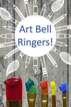 Art Bell Ringers for Art Teachers. Get your lesson off to a flying start with these art bell ringers.