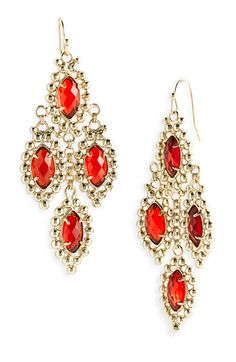 Kendra Scott 'Fiona' Chandelier Statement Earrings #wedding