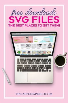 Get FREE SVG Files for Cricut and Silhouette Machines - Where to Find and Download the BEST SVG Cut Files from Blogs and Designers - Guide by Pineapple Paper Co. #cricut #freesvg #svgfiles #svg #silhouettecameo #freecutfiles Cricut Vinyl, Svg Files For Cricut, Cricut Craft, Cricut Ideas, Monogrammed Stationery, Cool Diy Projects, Project Ideas, Free Svg Cut Files, Silhouette Machine
