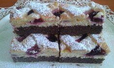 Koláčik s tvarohom a černicami je vynikajúci:)) Tiramisu, Food And Drink, Cheesecake, Cookies, Ethnic Recipes, Desserts, 3, Anna, Sheet Cakes
