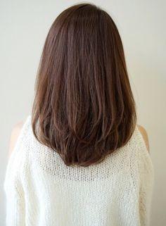 Ideas Haircut Bob Long Mid Length Balayage For 2019 Haircuts Straight Hair, Haircuts For Medium Hair, Medium Hair Cuts, Short Hair Cuts, Medium Hair Styles, Curly Hair Styles, Korean Haircut Medium, Oval Face Haircuts, Brunette Hair With Highlights