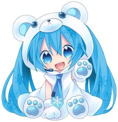 I LOVE MIKU!(Anyone else able to imagine her singing Let It Go?) - They are very cute yay linda mi chibi Bobby miku [[Category:Adorablenes Anime Neko, Cute Anime Chibi, Art Anime, Manga Art, Miku Chibi, Chibi Kawaii, Chibi Girl, Hatsune Miku, Kawaii Girl