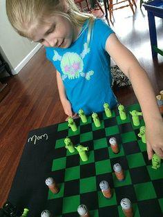 Checker board table 1