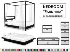 """Bedroom """"Farnham"""" 