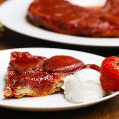 French-style Strawberry Tart Recipe by Tasty