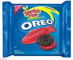 Um, OK: Nabisco is now selling Oreos with Swedish Fish-flavored cream in the…