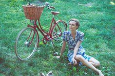 Bicycle Style: 10 Lovely Looks | Adeline Adeline