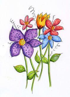copic flowers