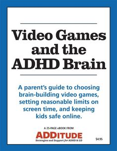 Does screen time influence kids' capacity for attention? Our new eBook explores how video games affect the ADHD brain — and helps you set up a system for managing them in your home.