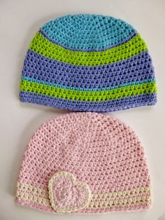 Based on Crazy Frog Hat crochet pattern by Darleen Hopkins #charity #chemo #halosofhope