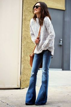Cute oversized sweater outfit Ideas For 2015 (35)