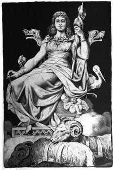 frigga norse goddess of love and fertility