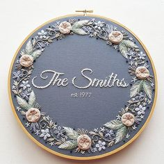 Grand Sewing Embroidery Designs At Home Ideas. Beauteous Finished Sewing Embroidery Designs At Home Ideas. Hand Embroidery Stitches, Embroidery Hoop Art, Hand Embroidery Designs, Ribbon Embroidery, Cross Stitch Embroidery, Wedding Embroidery, Embroidery Ideas, Embroidery Sampler, Machine Embroidery