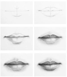 drawing mouth drawings lips pencil sketches tips techniques draw realistic