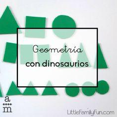 Prehistory, Education, School, Teaching Ideas, Early Education, Shape Games, Math Games, Dinosaur Games, Dinosaurs