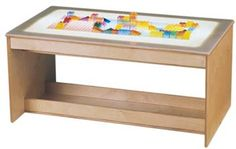 The Light Your Way Activity Table is made of sturdy wood that's sure to last for many years to come. This multi-function activity table saves valuable. Preschool Furniture, Classroom Furniture, Kids Furniture, Furniture Decor, Library Furniture, Furniture Projects, Wood Projects, Sand And Water Table, Water Tables