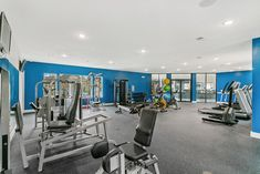Get your sweat on in our state-of-the-art, newly renovated fitness center.
