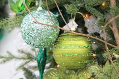 Christmas Decor - Shades Of Green