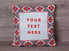 Check out this item in my Etsy shop https://www.etsy.com/listing/502742024/custom-cross-stitch-pillow-geometrical