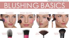 Blush Basics- how to apply blush for your face shape
