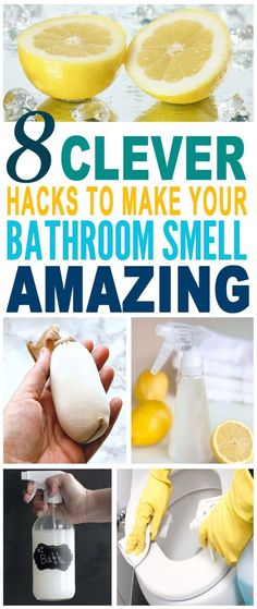 These are the most AMAZING bathroom smell hacks. Glad to have found these best smell hacks. Pinning for later