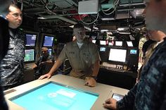 Master Chief Petty Officer of the Navy (MCPON) Rick West visits the crew of (PCU) Missouri (SSN 780).
