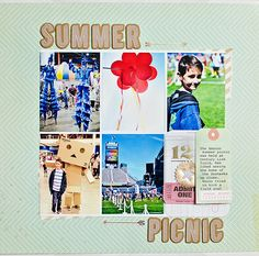 Summer Picnic by MarieL at @studio_calico