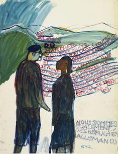 Charlotte Salomon. Sans titre, 1940-1942